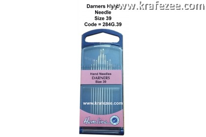 HEMLINE Hands Needles DARNERS Size 39