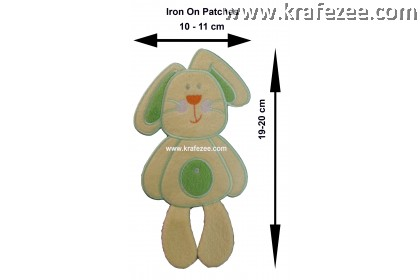 Iron On Patch Embroidery - Bunny Arnab