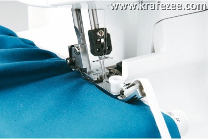 Brother 3034D Overlock Taping Elastic Foot