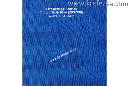 Kain Net Fabrics - Dark Blue