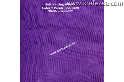 Kain Net Fabrics - Purple
