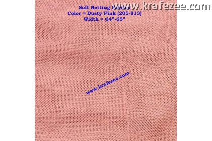 Kain Net Fabrics - Dusty Pink