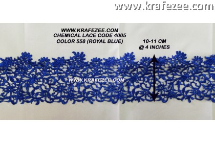 Chemical Lace 4005 - Royal Blue