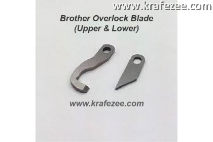 Brother Overlock Blades (Upper & Lower)