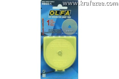 60 mm OLFA Rotary Cutter Spare Blade - 1 pc
