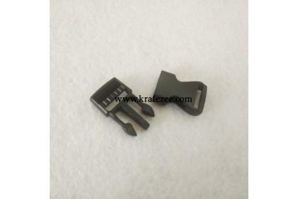 Plastic Clip Buckle 15mm (Black)
