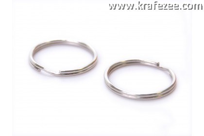 Key O Ring 1.6 cm (1 Pack 20 pcs)