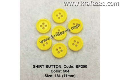 Shirt Button BP200 11mm. - Col: 504 (50 pcs)
