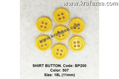 Shirt Button BP200 11mm. - Col: 507 (50 pcs)