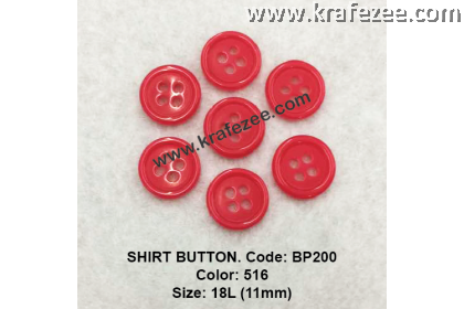 Shirt Button BP200 11mm. - Col: 516 (50 pcs)