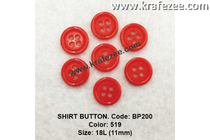 Shirt Button BP200 11mm. - Col: 519 (50 pcs)