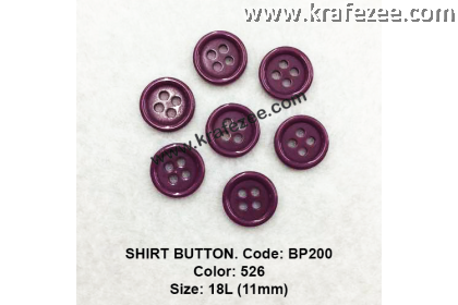 Shirt Button BP200 11mm. - Col: 526 (50 pcs)