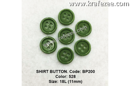 Shirt Button BP200 11mm. - Col: 528 (50 pcs)