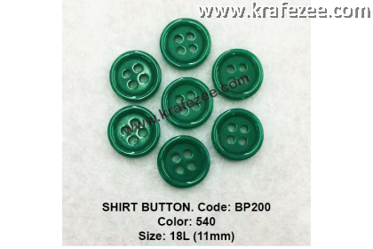 Shirt Button BP200 11mm. - Col: 540 (50 pcs)