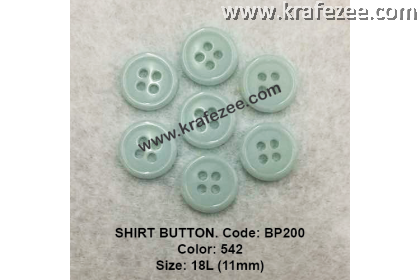 Shirt Button BP200 11mm. - Col: 542 (50 pcs)