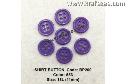 Shirt Button BP200 11mm. - Col: 553 (50 pcs)