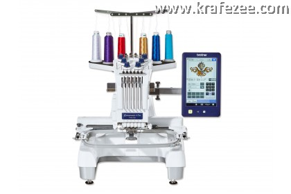 Mesin Sulam Brother PR670E Embroidery Machine. FREE SOFTWARE.