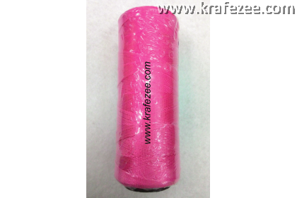 Nylon Twine Thread for Shoes, Canvas (No. 6) - Pink