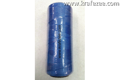 Nylon Twine Thread for Shoes, Canvas (No. 6) - Blue