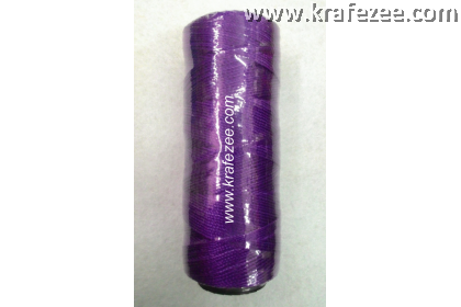 Nylon Twine Thread for Shoes, Canvas (No. 9) - Purple