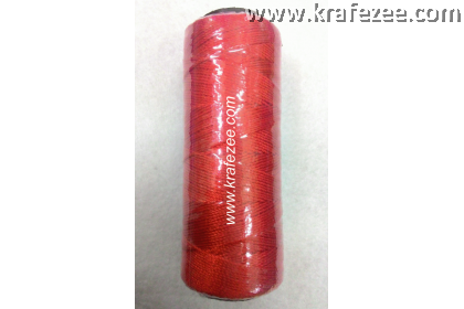 Nylon Twine Thread for Shoes, Canvas (No. 9) - Red