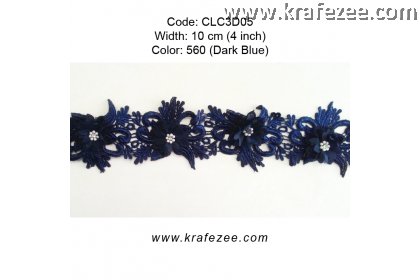 Flower Lace with Pearl (CLC3D05) - Col.560