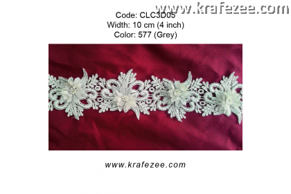 Flower Lace with Pearl (CLC3D05) - Col.577