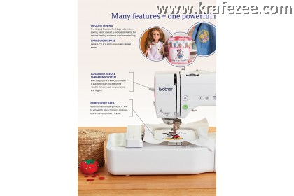 Mesin Sulam Jahit Quilting Brother NV180D