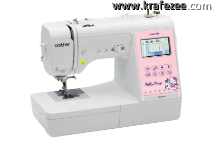 Mesin Jahit + Sulam + Quilting 3 in 1, Brother Innovis NV180K Embroidery Machine + Basic Software + 5000 Embroidery Patterns