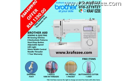 Computerize Sewing Machine Brother A80