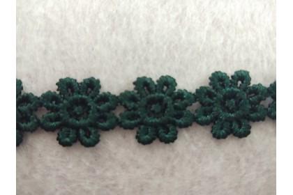 Lace Bunga (CLC1031) - Emerald [1 meter]