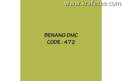 DMC Embroidery-Cross Stitch (472)
