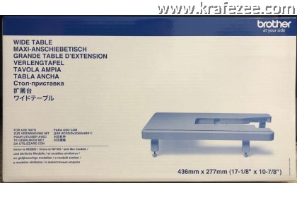 Extension Wide Table for Brother A80, A150, NV180 Sewing Machine