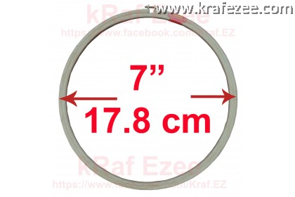 """High Quality 5-ply embroidery hoop 7"""" (17.8 cm)"""