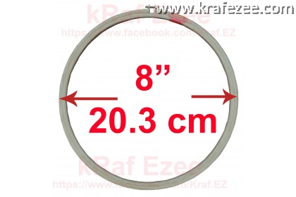 """High Quality 5-ply embroidery hoop 8"""" (20.3 cm)"""