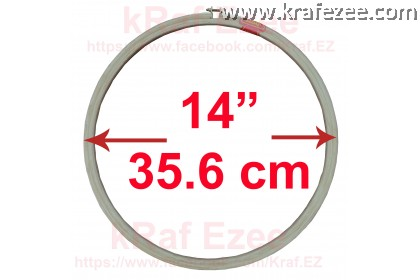 """High Quality 5-ply embroidery hoop 14"""" (35.60 cm)"""
