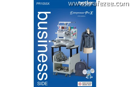 Mesin Sulam Brother PR1055X Embroidery Machine. FREE SOFTWARE