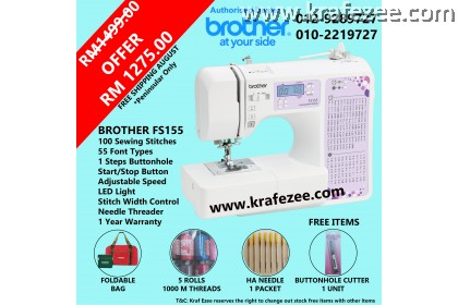 Computerize Sewing Machine Brother FS155