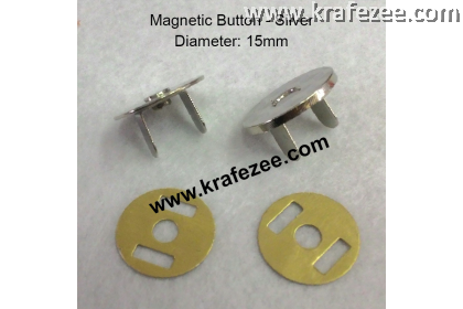 15 mm Magnetic Snap Button