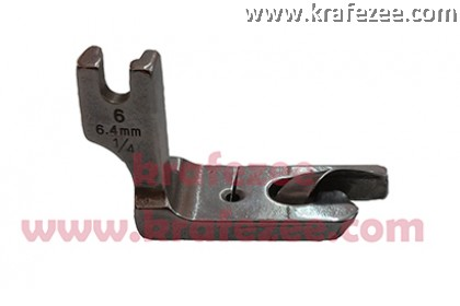 Industrial Sewing Foot Narrow Hemmer (Tapak Kelim) 6.4 mm