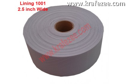 Interlining for Clothing. Type 1001 (Hard). 2.5 inches Wide