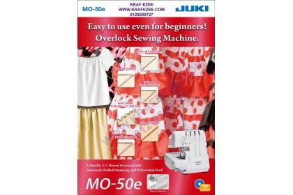 Overlock Roll Hem Serger Sewing Machine JUKI MO-50e