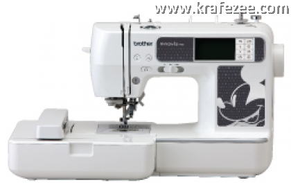 Mesin Jahit Sulam Brother NV980D Disney Embroidery Machine  + 5000 Embroidery Patterns + Basic Software