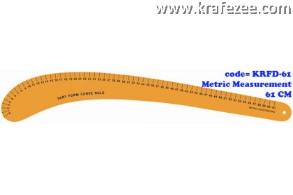 Multipurpose Fashion Garment Ruler KRFD-61