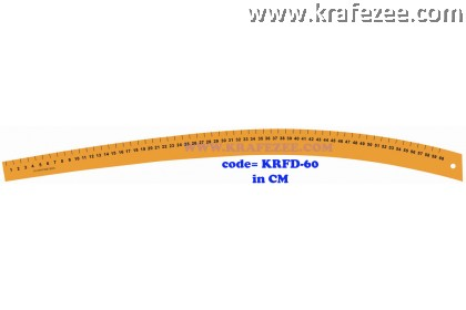 Multipurpose Fashion Garment Curve Ruler KRFD-6o