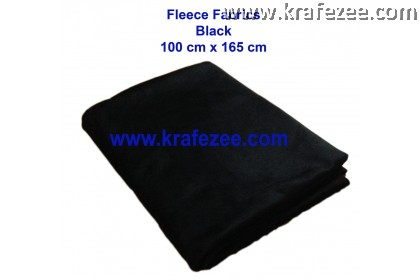 Beautiful Fleece Fabrics Black