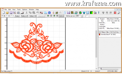 Embroidery Editor Software