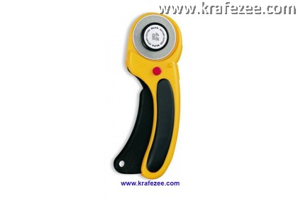 45 mm OLFA Rotary Cutter - Ergonomic Design