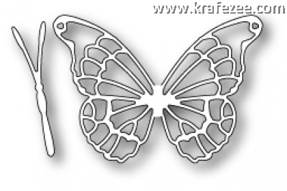 MB0012 Memory Boxco Die - Willoughby Butterfly Wings