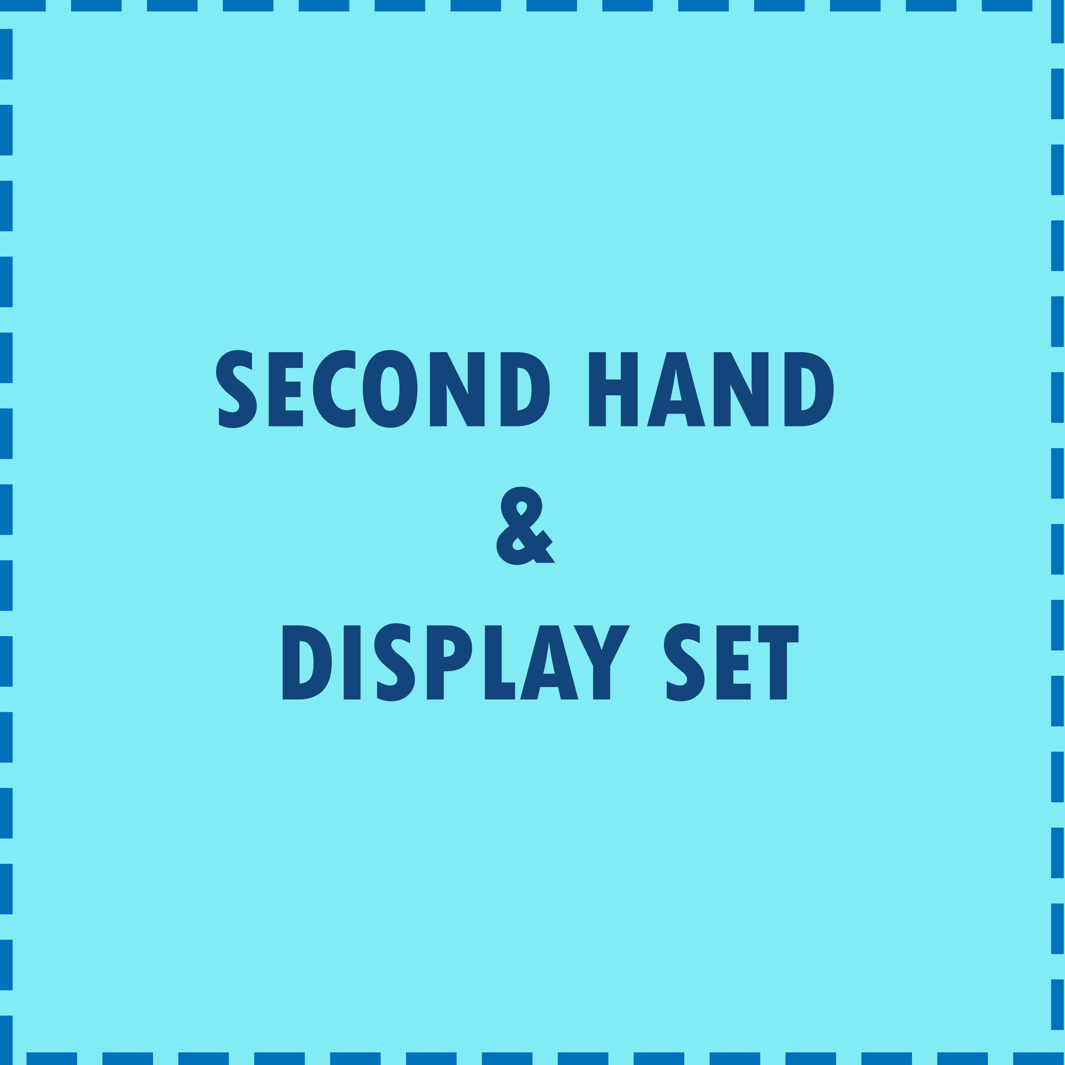 Second Hand or Display Set
